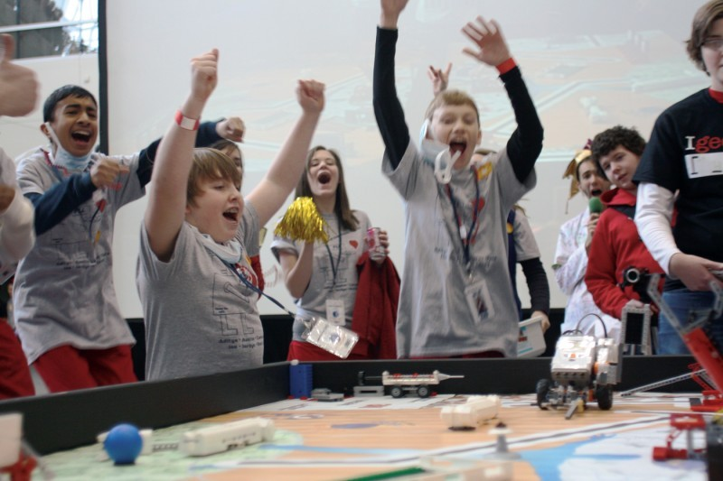 Lego League Championships - Celebration