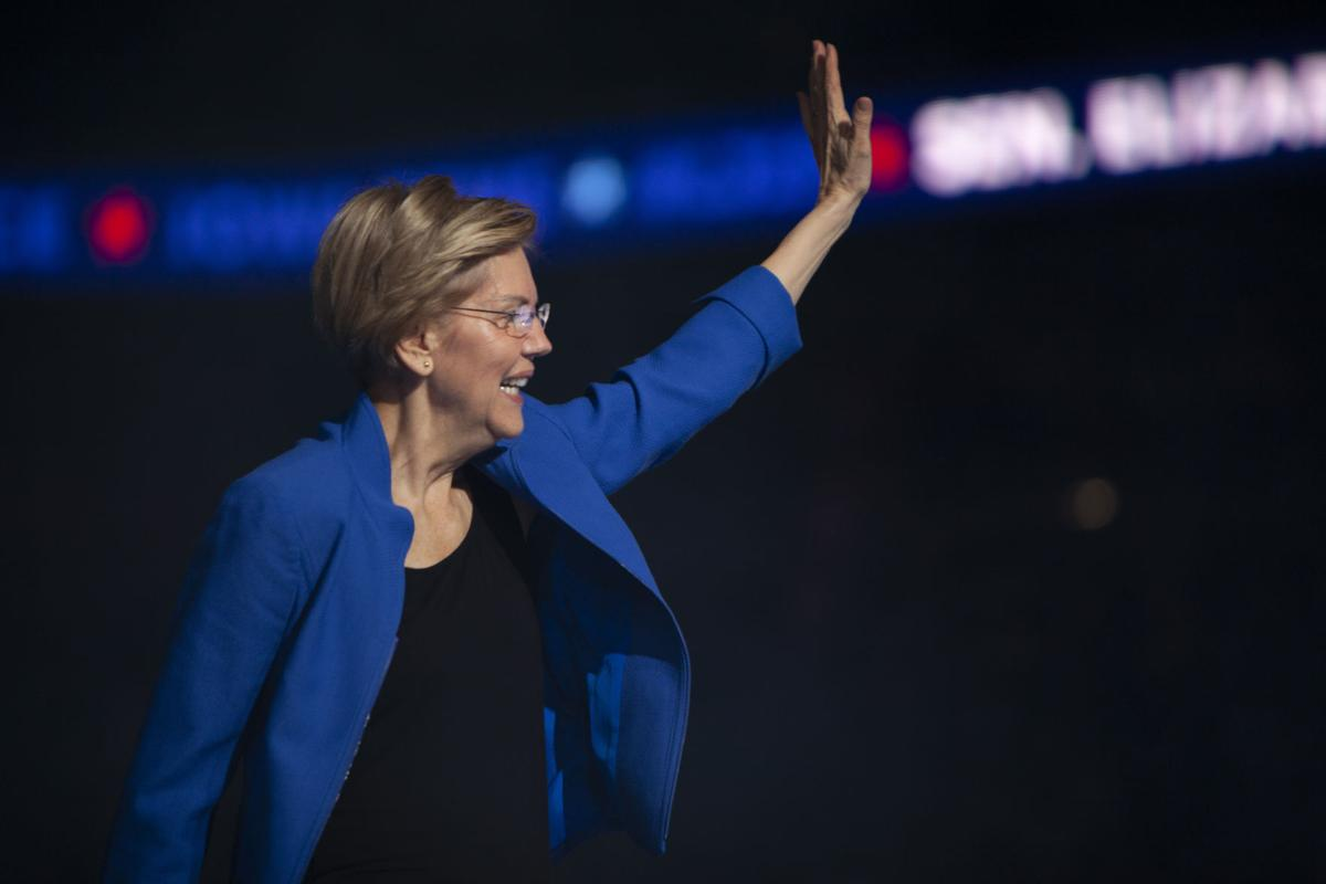 Elizabeth Warren at the Liberty and Justice dinner