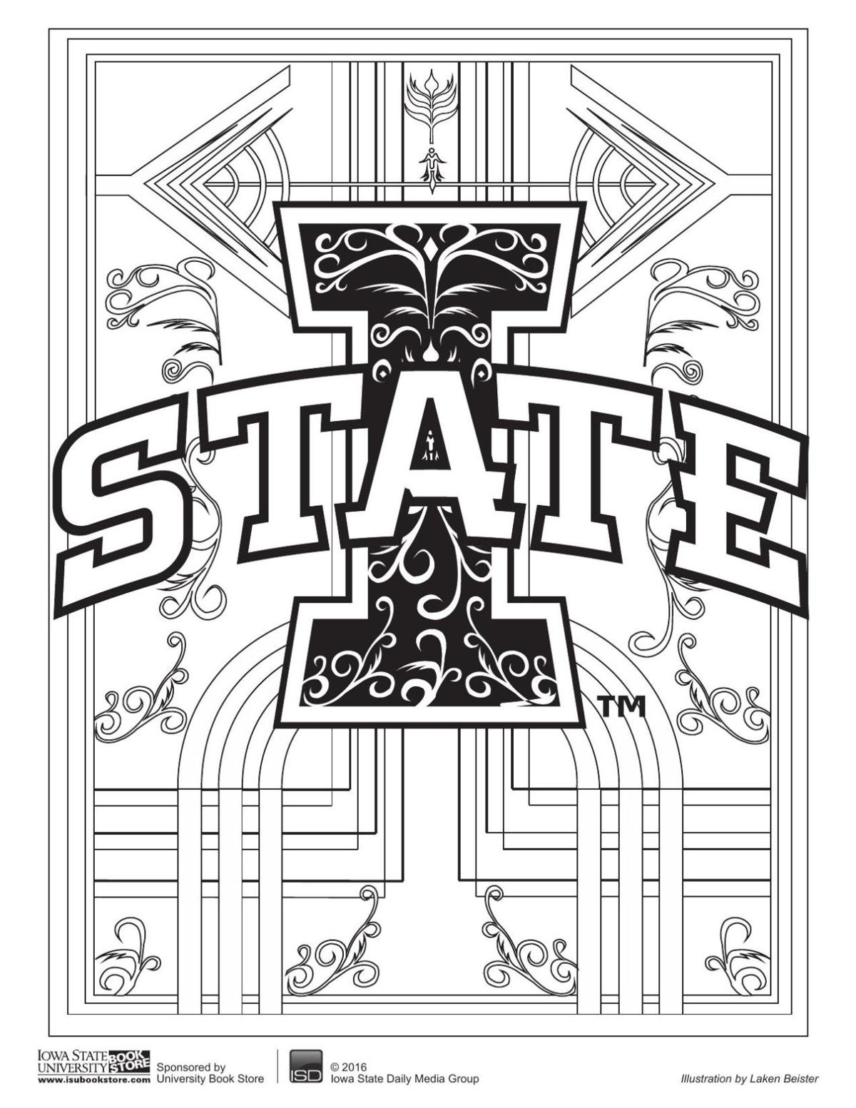Thursday coloring pages | Multimedia | iowastatedaily.com