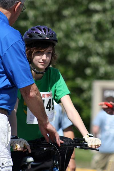 special olympics cycling