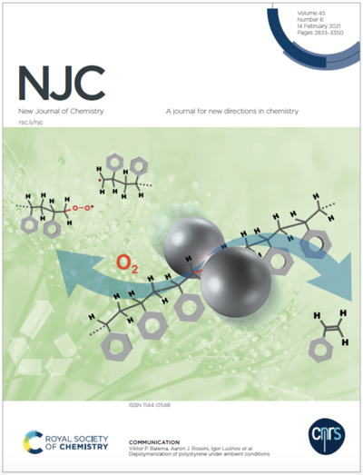 Front Page New Journal of Chemistry