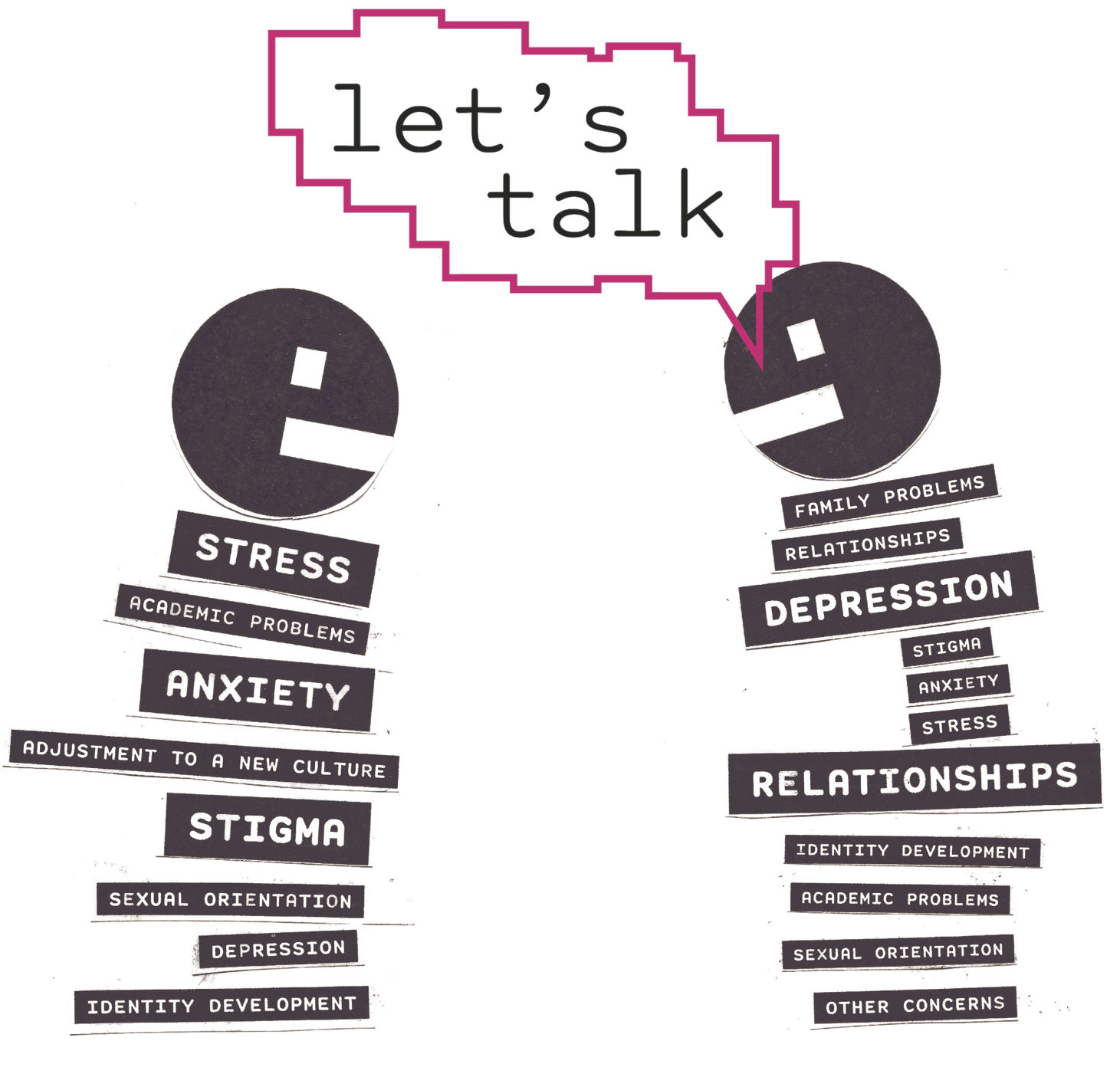 Student Counseling Services offers Let's Talk program