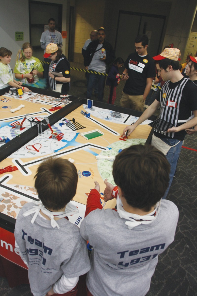 Lego League Championships - Competition