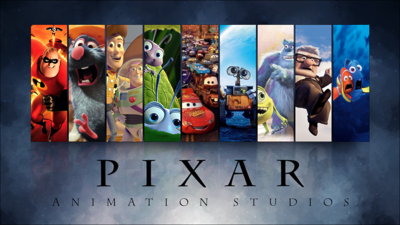 Pixar Animation Studios through the years