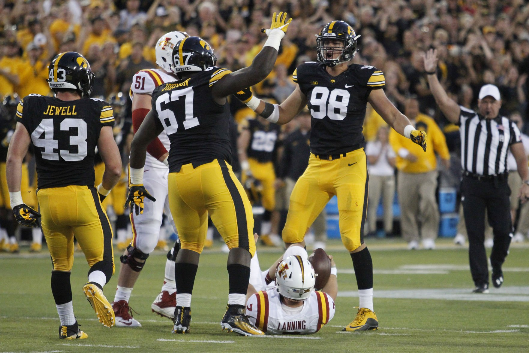 Hawkeyes come back to beat Iowa State in overtime