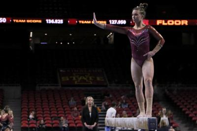 PHOTOS: Gymnastics Iowa State vs. Denver