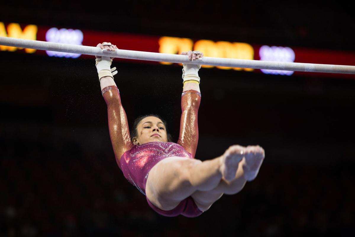 Iowa State gymnastics generating 'whispers' after top-10 win