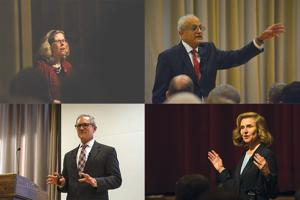 Final presidential candidates spoke at open forums this week