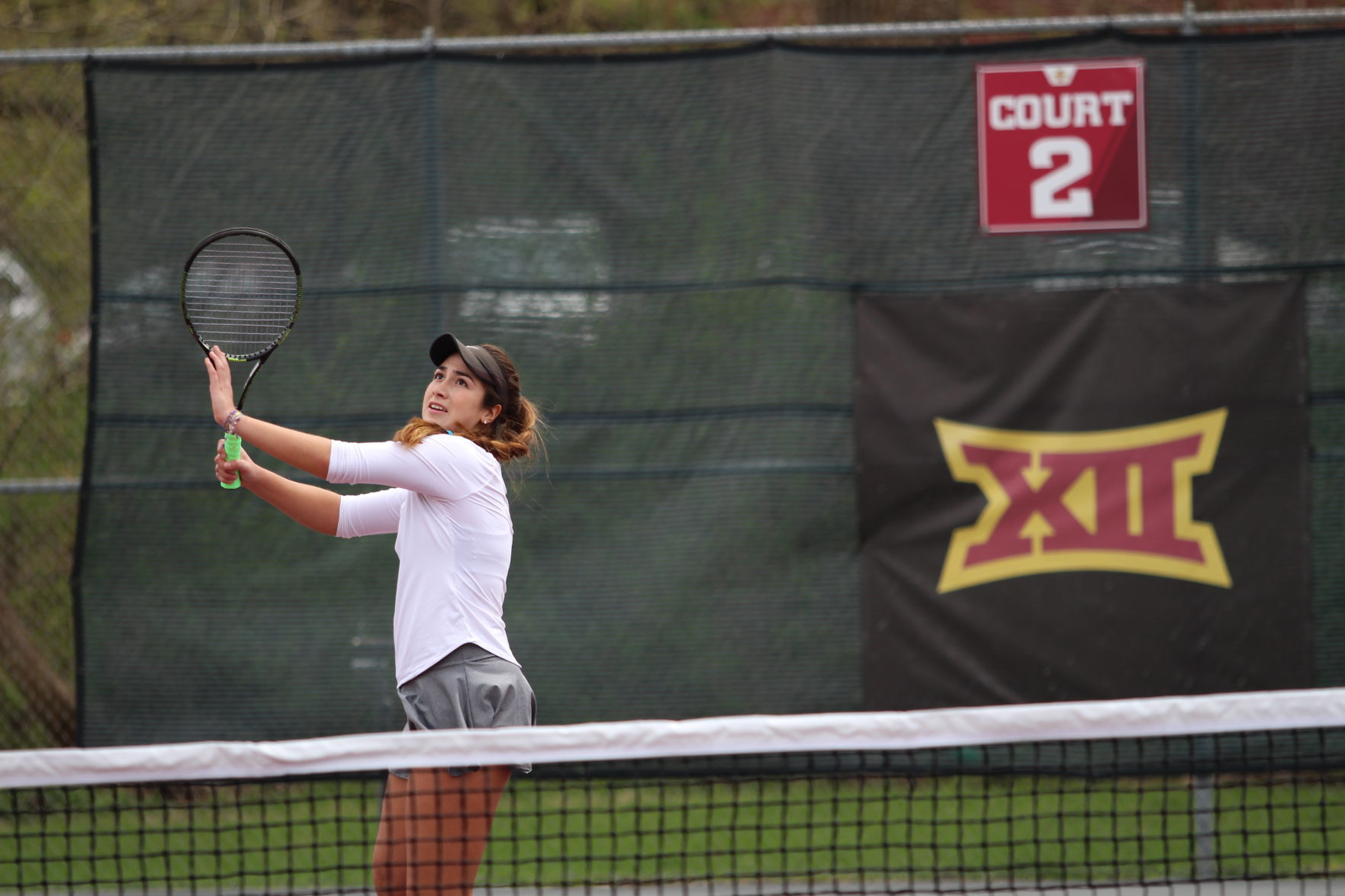 Lone Cyclone: Karen Alvarez only tennis player to participate in Bluejay Invitational