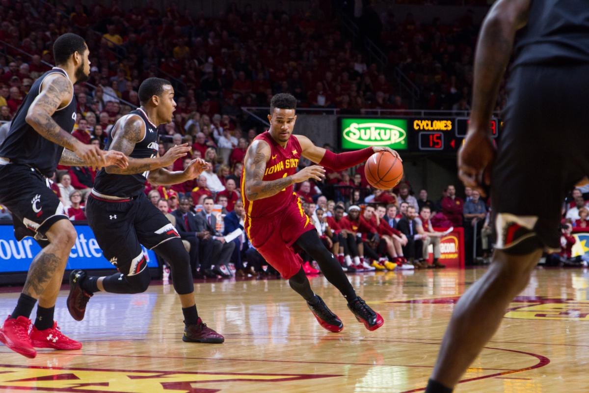 no. 19 iowa state outsized in 55-54 overtime loss to cincinnati