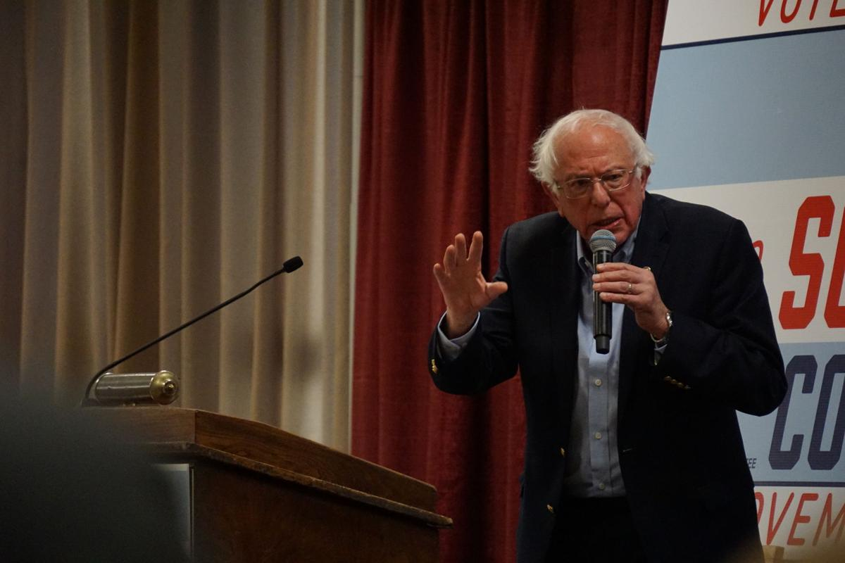 Rally for Scholten and DeJear featuring Bernie Sanders