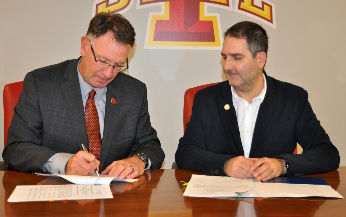 Agreement with Spain University