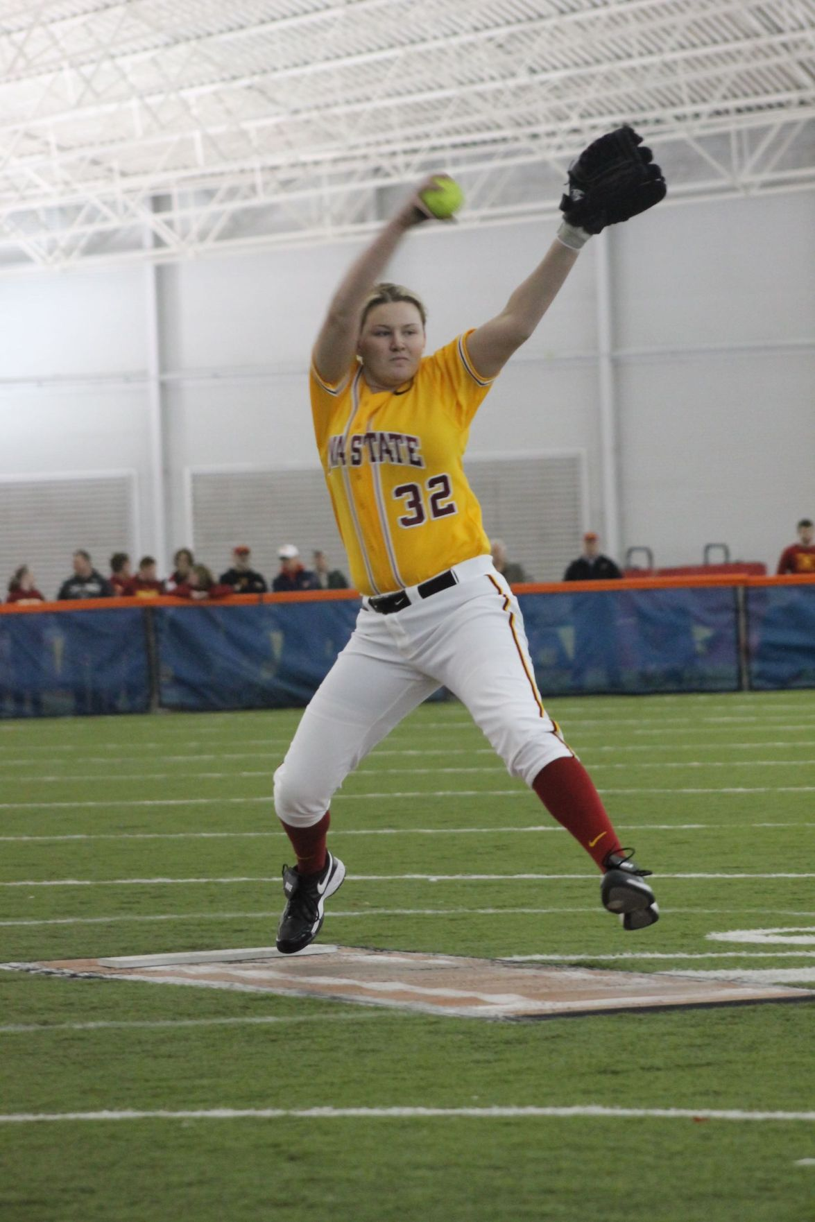 ISU softball beats SDSU 5-3