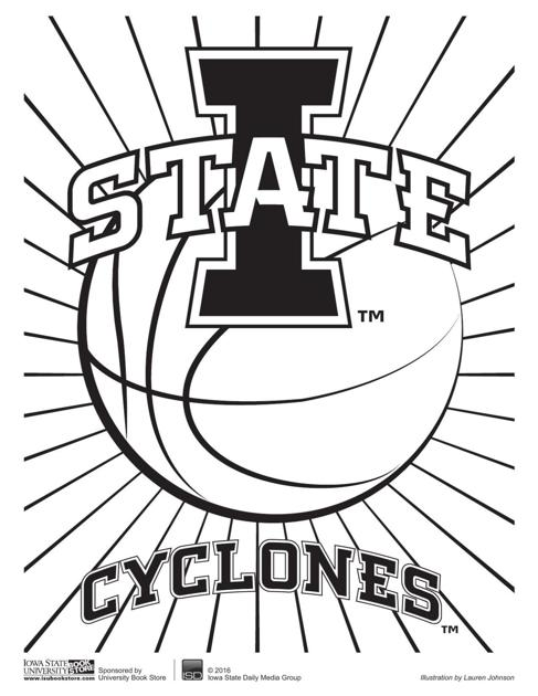 Tuesday coloring pages | Multimedia | iowastatedaily.com