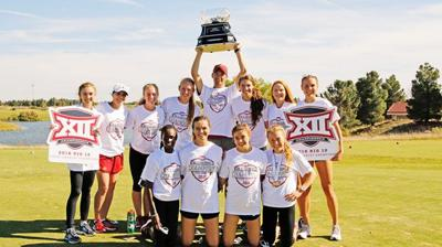 Women's cross-country wins Big 12 Championship