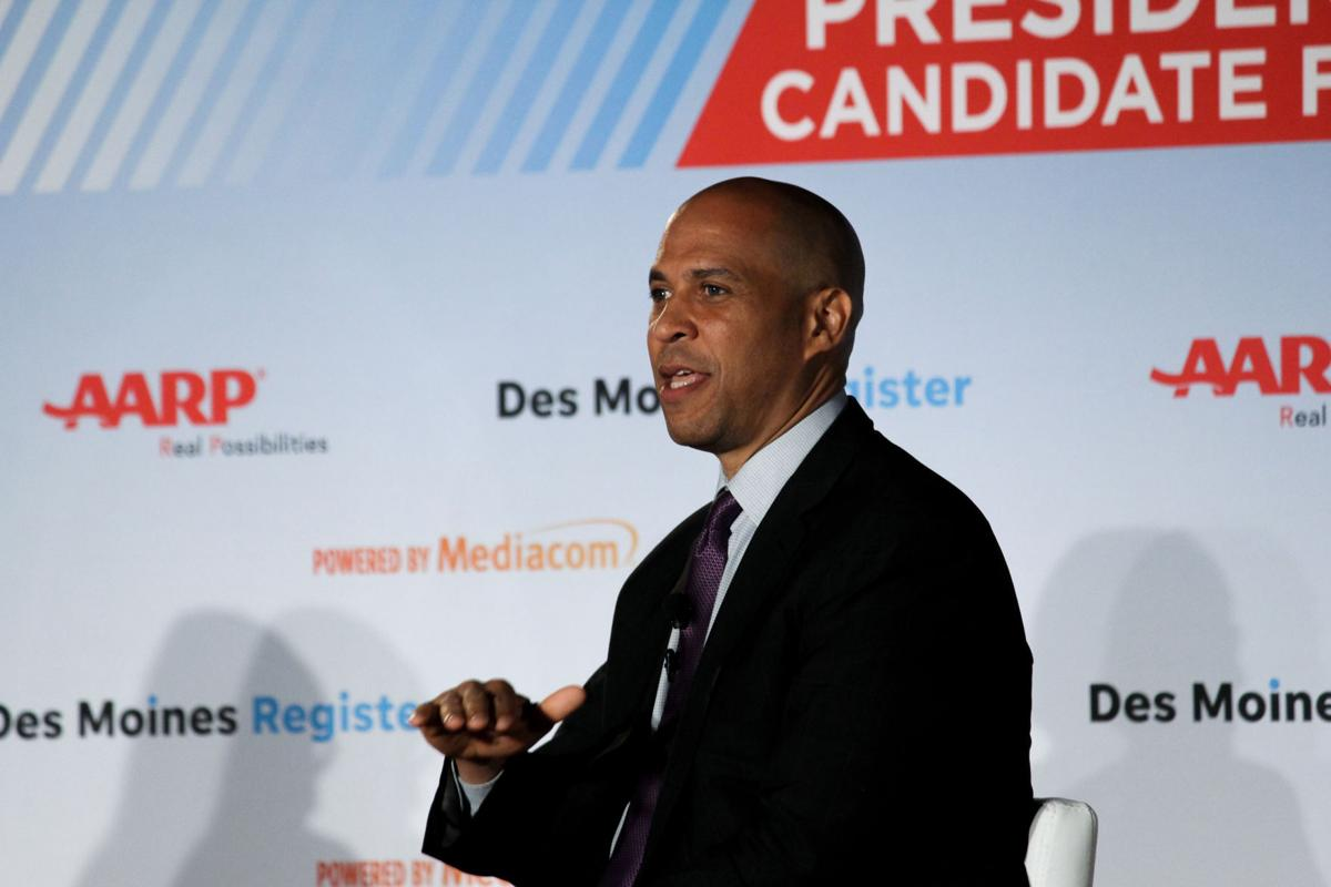 Cory Booker Drake Candidate Forum 2