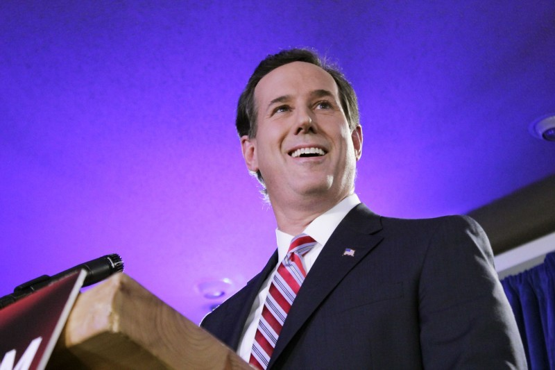 Santorum quotes on homosexuality in christianity