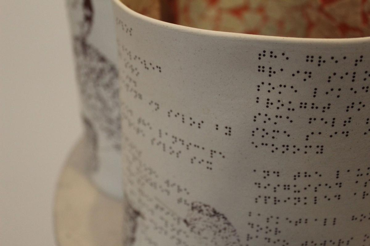Iowa State professor incorporates Braille into art exhibit