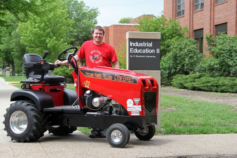 Students 'get real engineering experience' through tractor