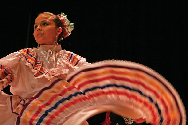 Latino Culture Night - Traditional dance