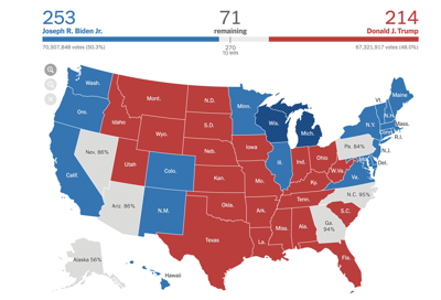 nyt map 2020