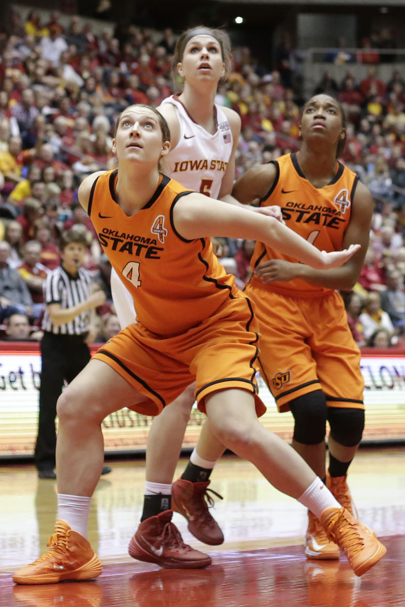 Women's basketball: Oklahoma State deals the Cyclones ...