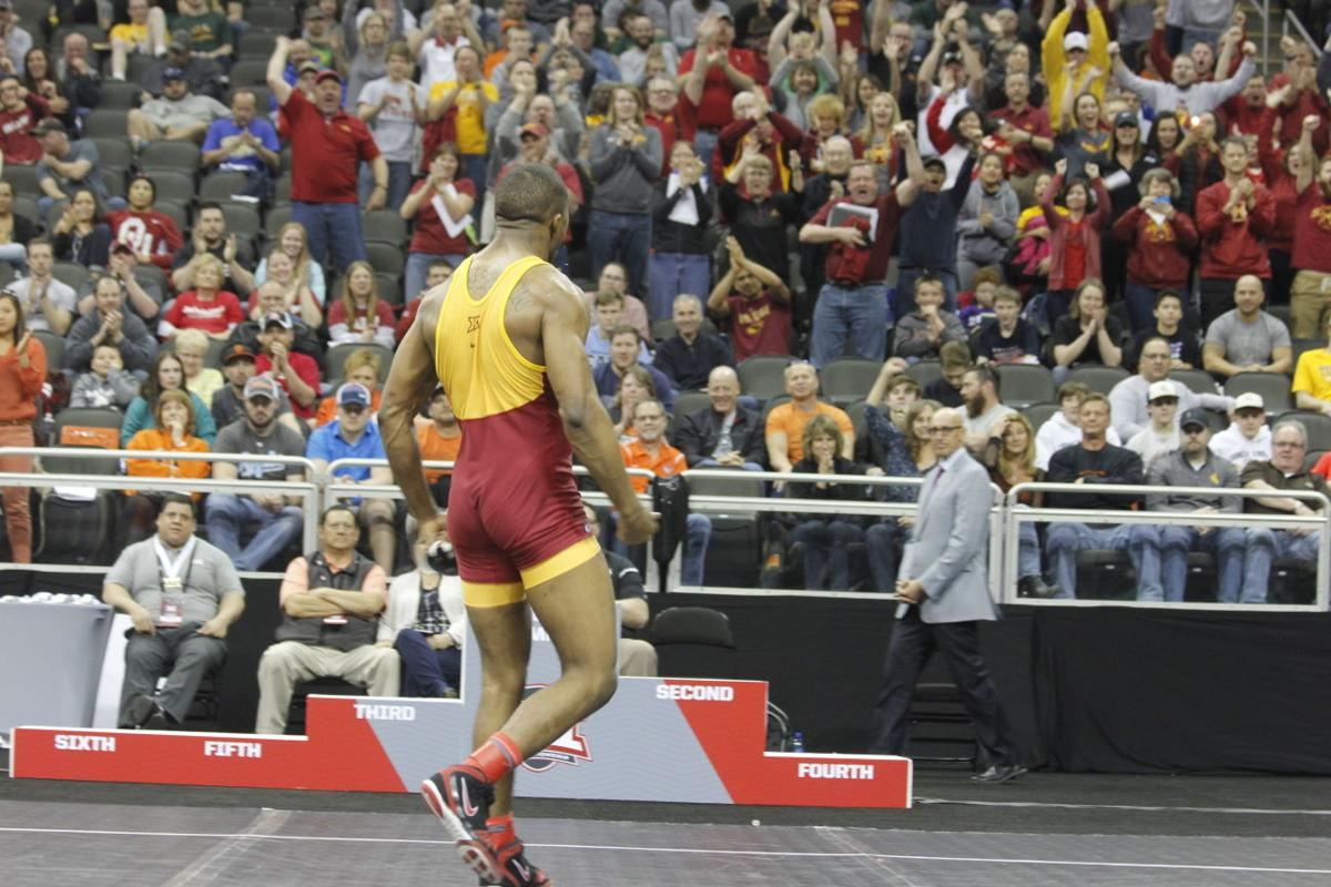 Lelund Weatherspoon wins second Big 12 Championship