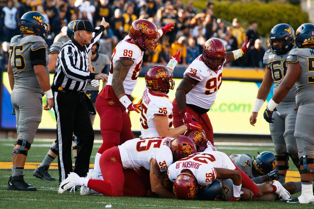 Iowa State recovers the fumble against West Virginia