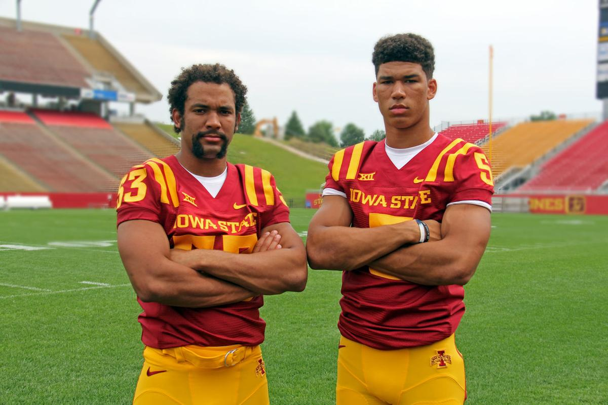 Brothers In Arms Anthony And Allen Lazard Join Forces For Second Time Football Iowastatedaily Com