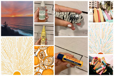 Summer Beauty Must-Haves collage