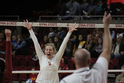 ISU vs Texas Volleyball