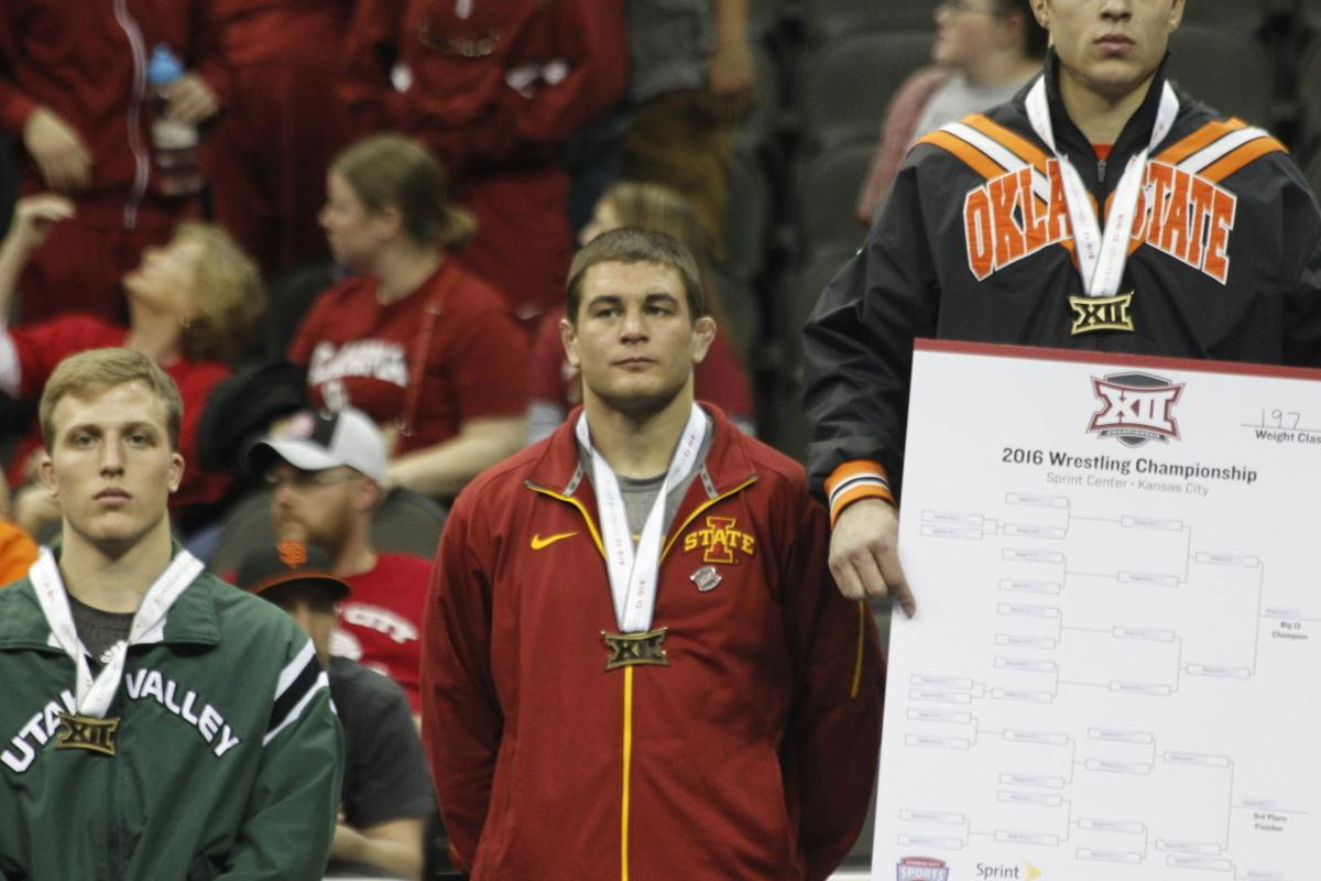 Iowa State places third at Big 12 Wrestling Championships