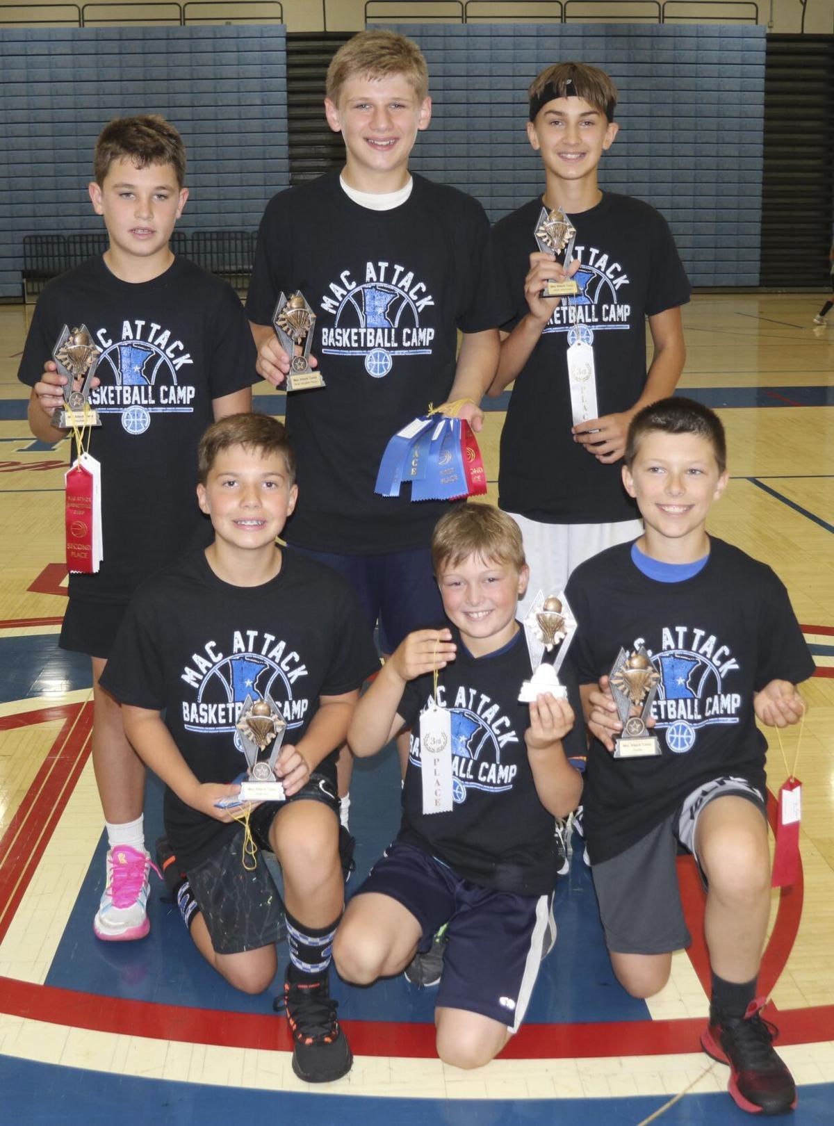 Participants earn honors at Mac Attack basketball camp