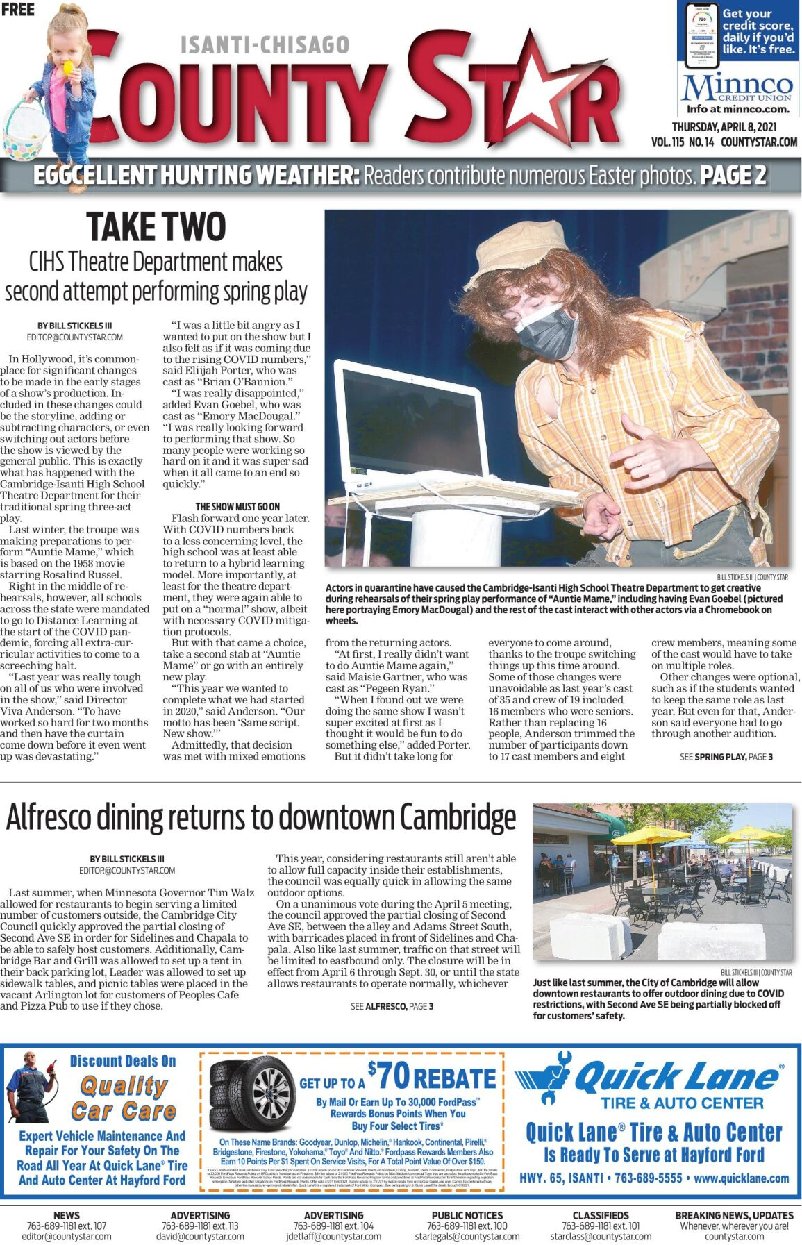 Isanti-Chisago County Star April 8, 2021 e-edition