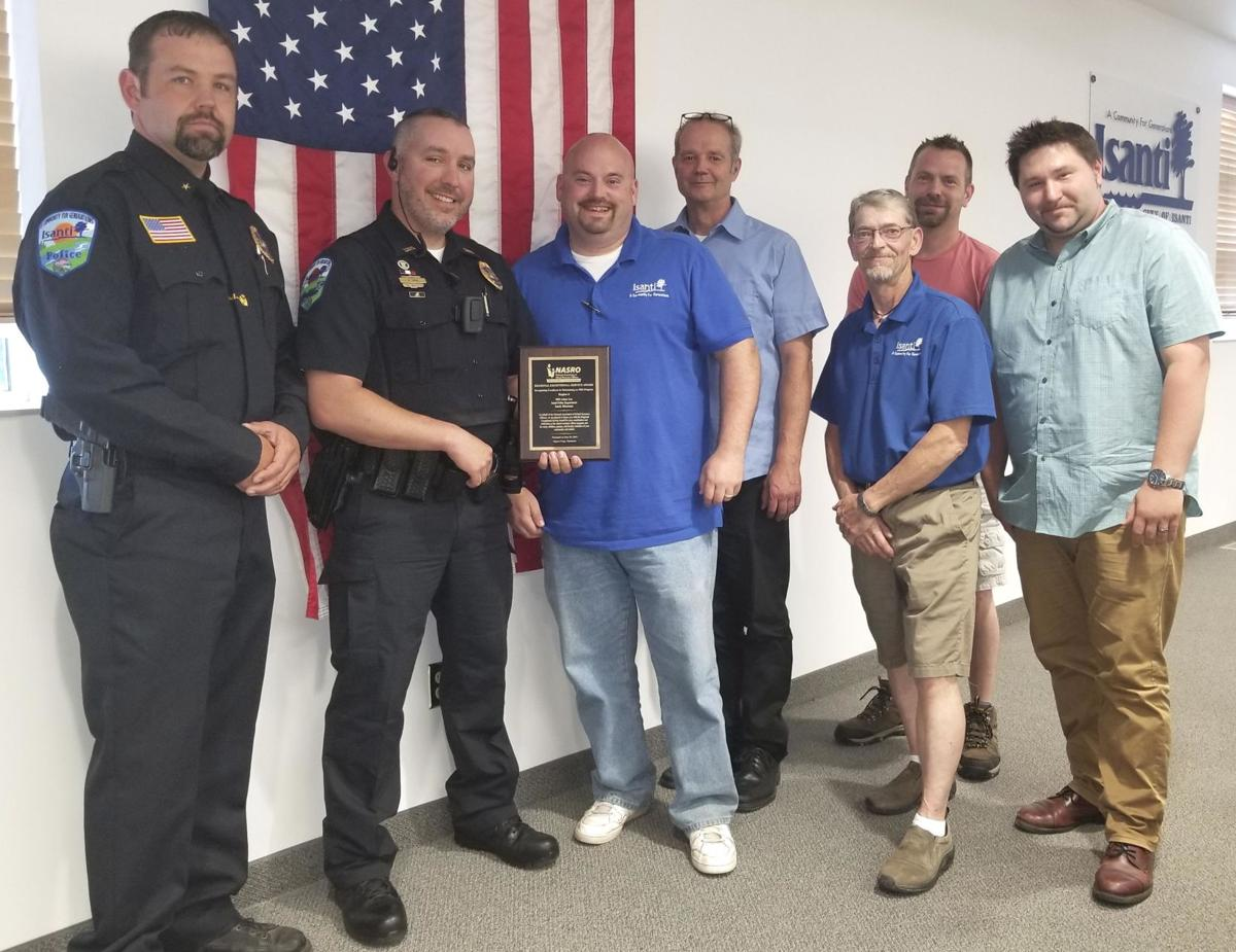 Isanti swears in new police officers