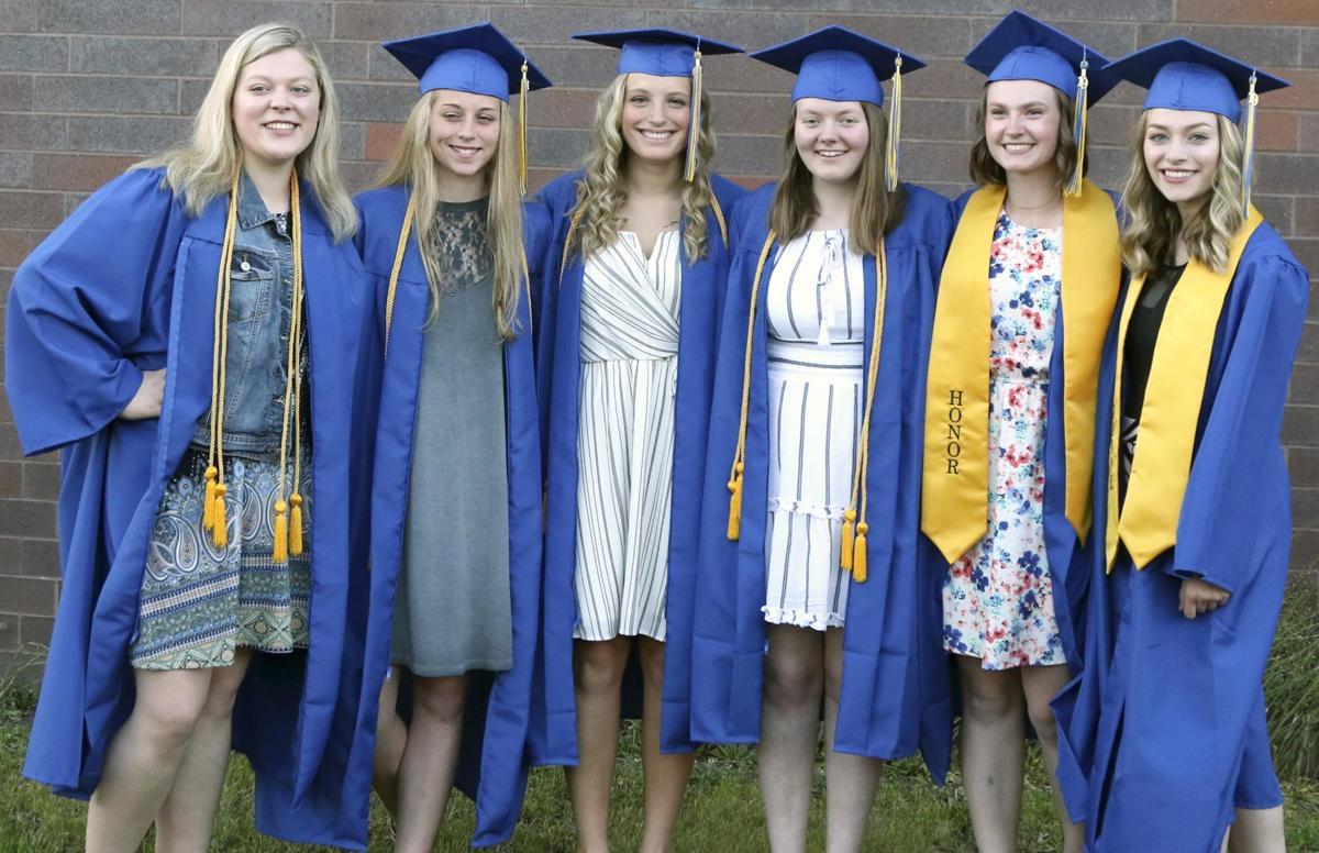 Braham seniors are all smiles during graduation