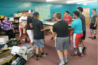 Football players team up with Family Pathways