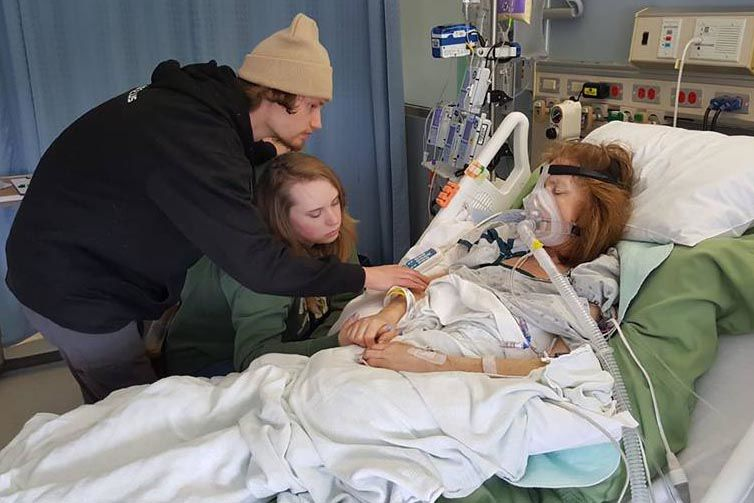 rising from the ashes north branch woman goes from coma to 5k in