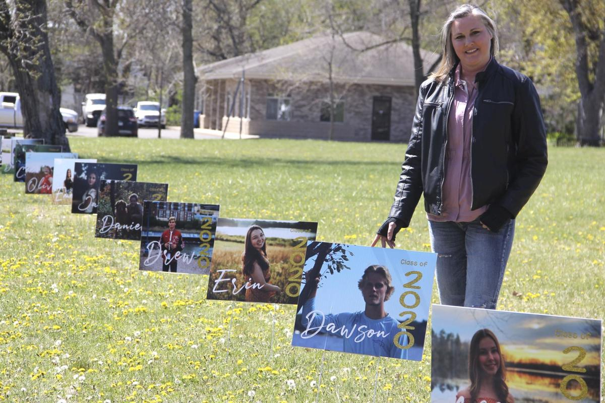 Signs of the times: Yard signs spotlight North Branch Area High School graduates