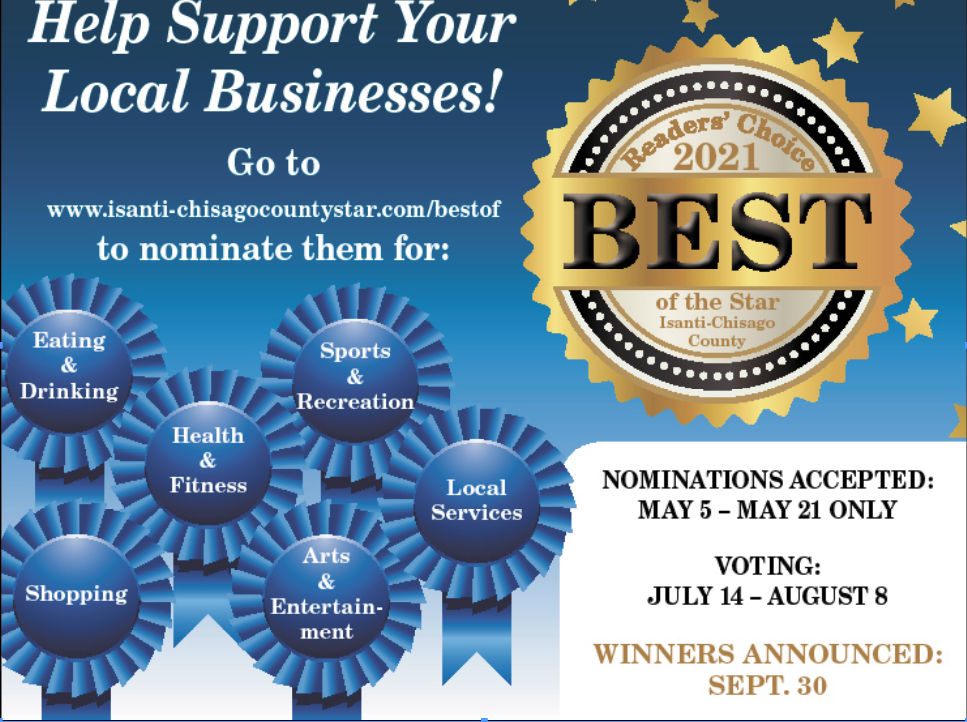 """From the Publisher: """"Best Of..."""" contest is back: Nominations start now"""