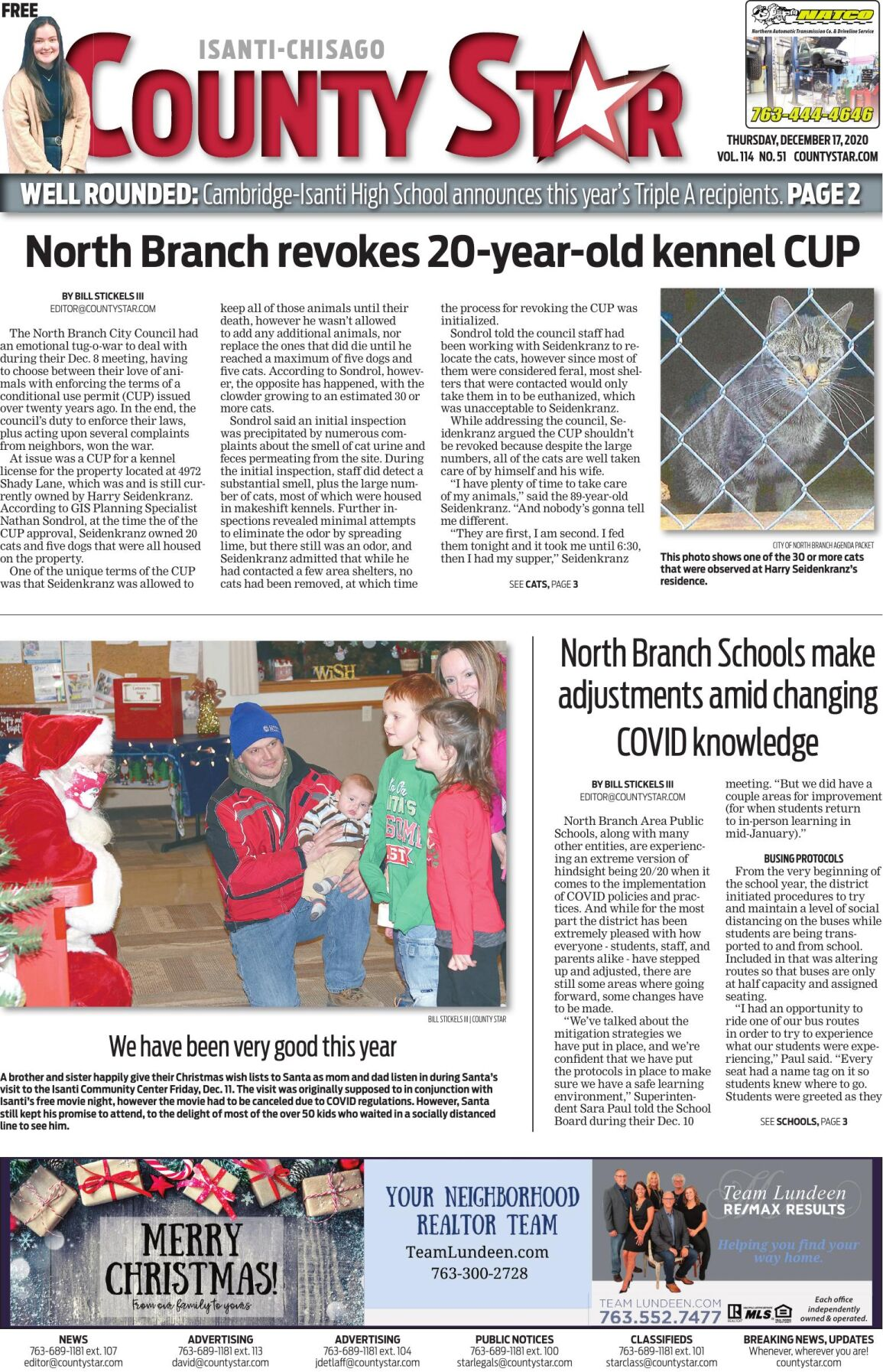 Isanti-Chisago County Star December 17, 2020 e-edition
