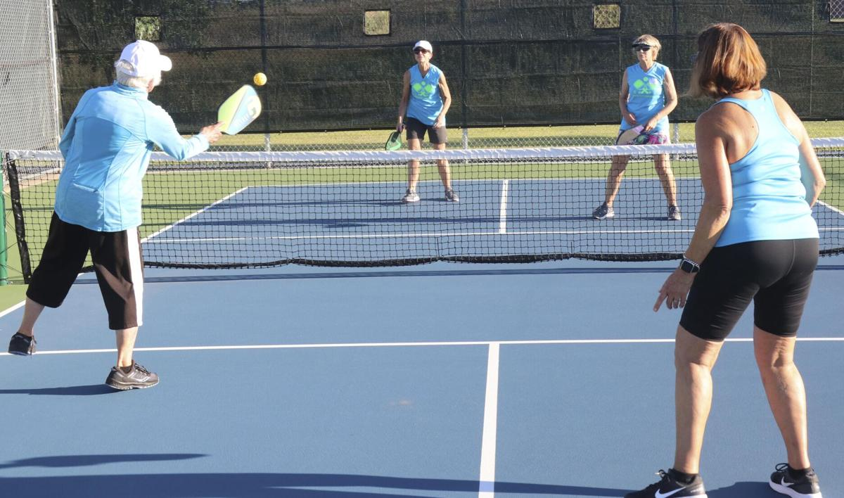 Increased popularity spurs addition of four more pickleball courts