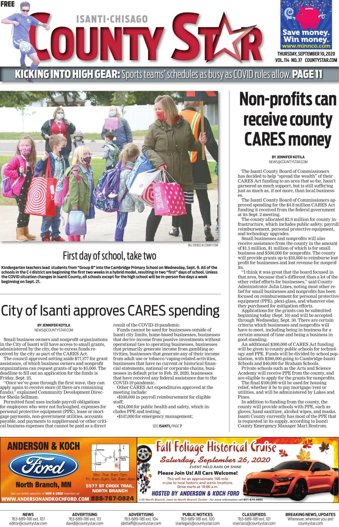 Isanti-Chisago County Star September 10, 2020 e-edition