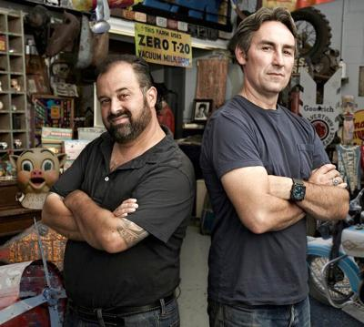 """""""American Pickers"""" are looking for good junk"""