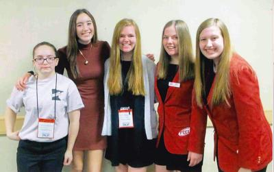 Cambridge-Isanti FCCLA scores well at state