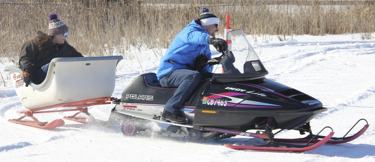 Sunshine warms North Branch Winter Fest activities