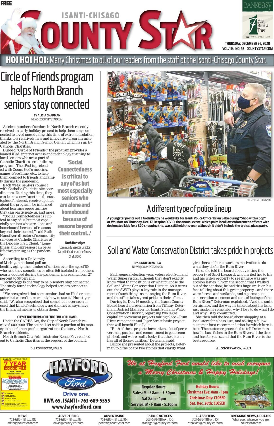 Isanti-Chisago County Star December 24, 2020 e-edition