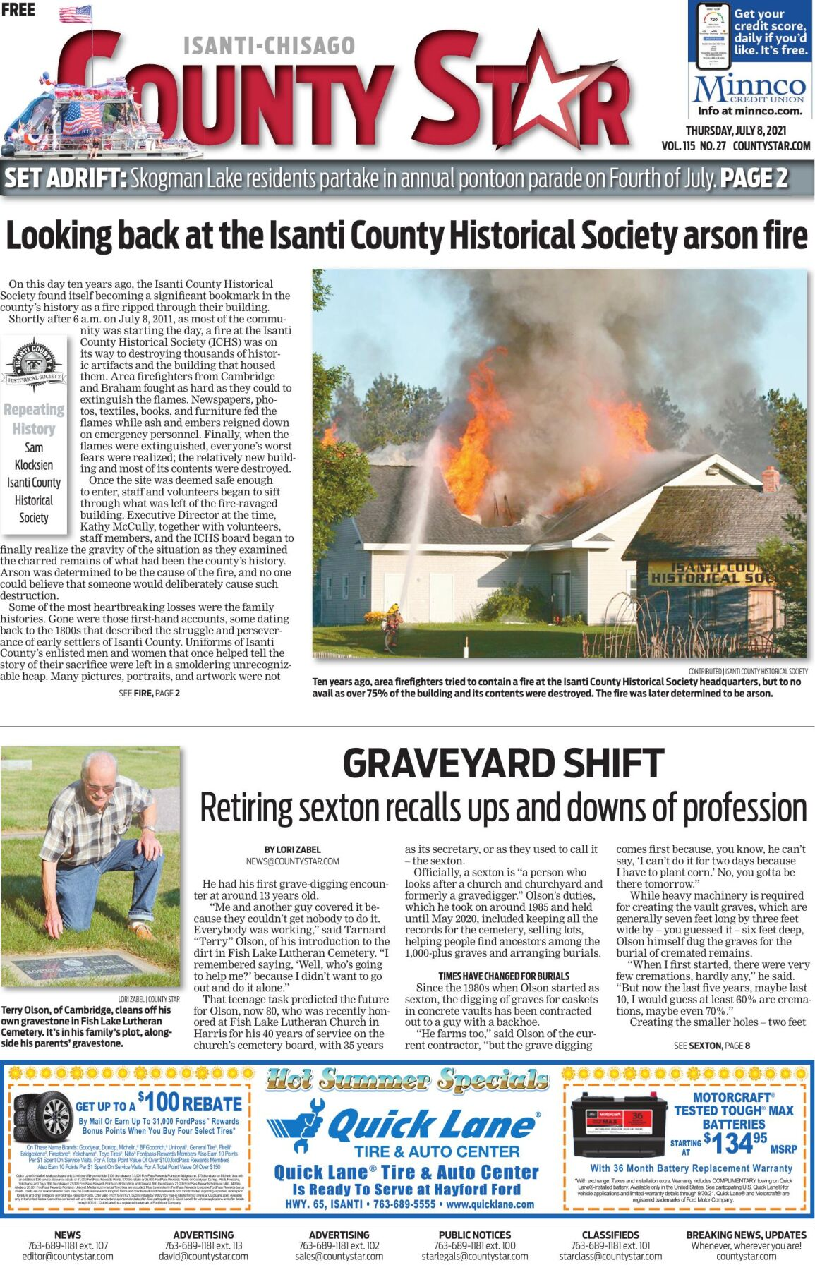 Isanti-Chisago County Star July 8, 2021 e-edition