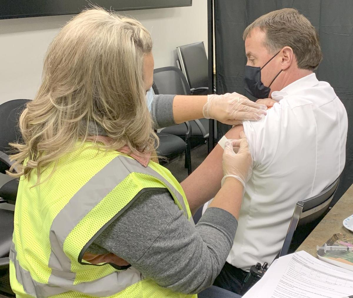 Isanti County Public Health administers first COVID-19 vaccines