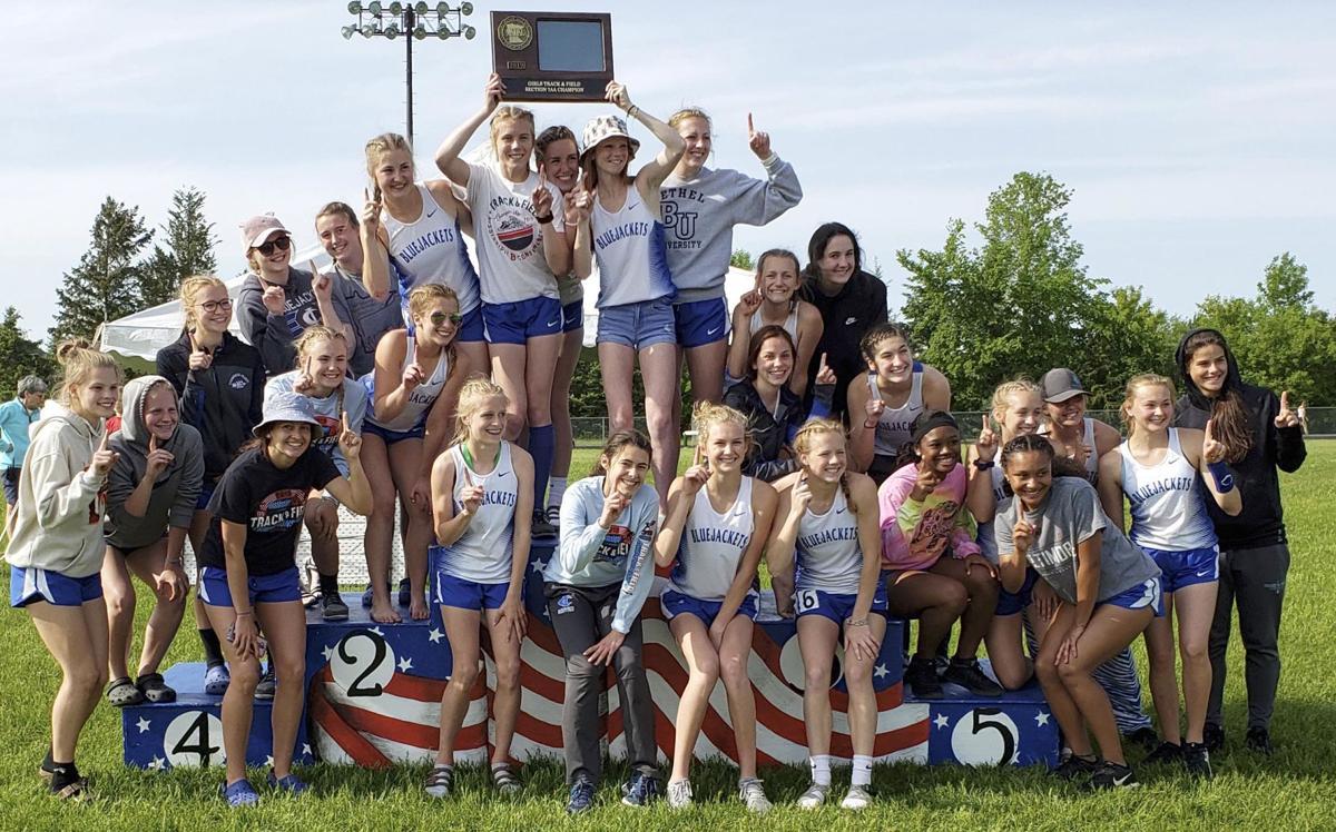 Bluejacket track teams enjoy historic section results